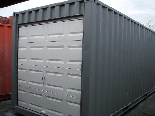 20' with overhead door